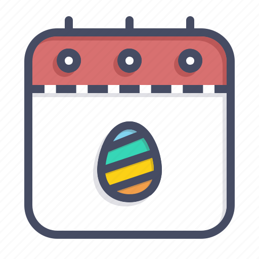 calendar, celebration, countdown, date, easter, event, festival icon