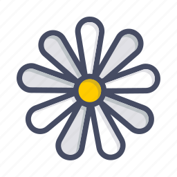 chamomile, easter, floral, flower, plant, spring icon