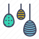 decorated, decoration, easter, egg, eggs, hanging, paschal icon
