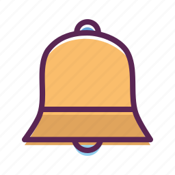 bell, christmas, easter, jingle icon