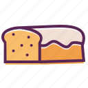 bake, bread, easter, food, gluten, loaf, wheat