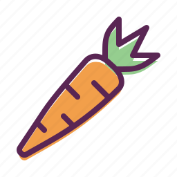 carrot, easter, food, spring, vegetable icon