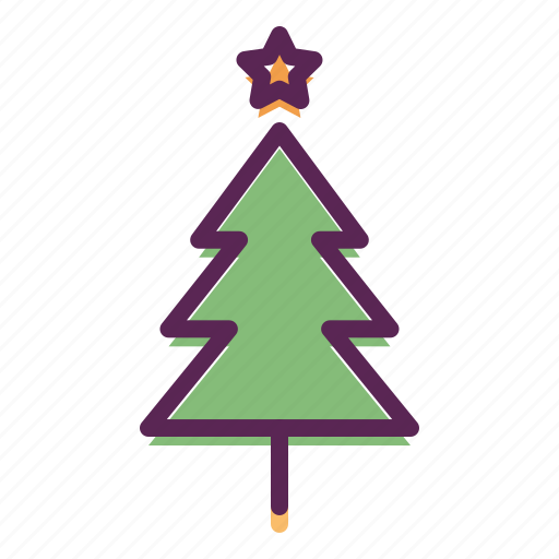 Christmas, decoration, easter, star, tree, hygge icon - Download on Iconfinder