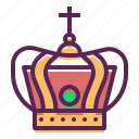 christ, crown, god, holy, jesus, king icon