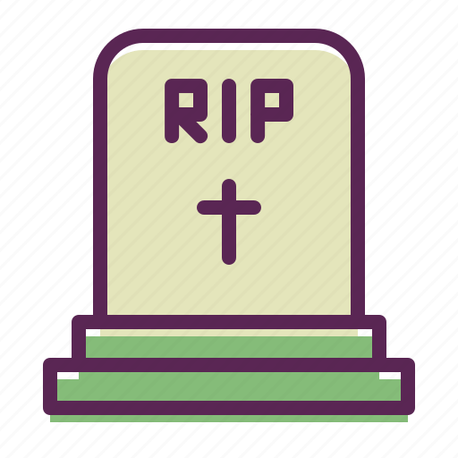 cemetery, easter, grave, rip, sepulchre, stone, tomb icon