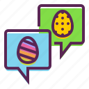 chat, easter, greetings, message, wishes