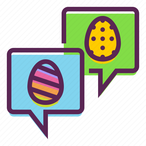 Chat, easter, greetings, message, wishes icon - Download on Iconfinder