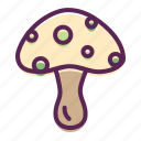 easter, food, mushroom, plant, spring, vegetable icon