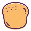 scone, bagel, bakery, pastry, bake, bread