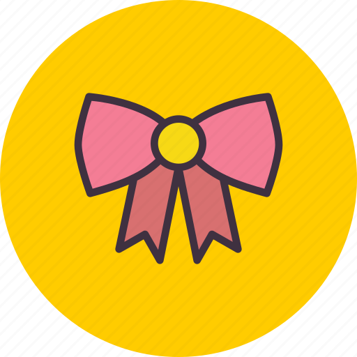 bow, christmas, decorate, decoration, easter, ribbon, tie icon