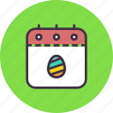 calendar, countdown, date, day, easter, event, festival icon