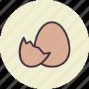 chickling, easter, egg, hatch, shell