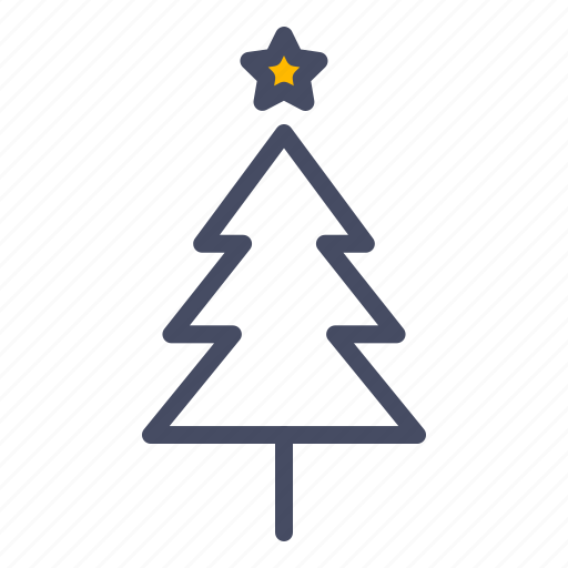 celebration, christmas, decoration, easter, star, tree, winter icon