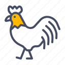 bird, chicken, farm, hen, livestock, rooster icon