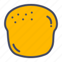 bagel, bake, bakery, bread, cupcake, pastry, scone icon