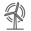 eco, ecology, system, wind, windmill icon