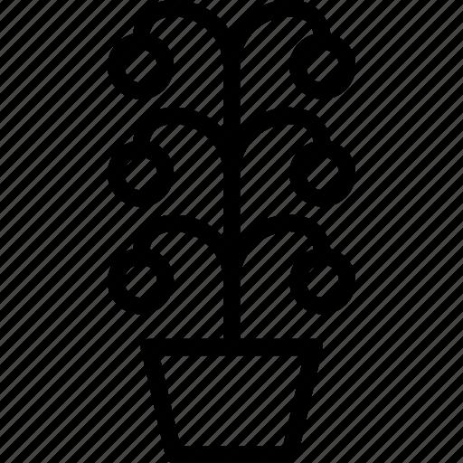 dry, fade, flower, garden, pot, whelk icon