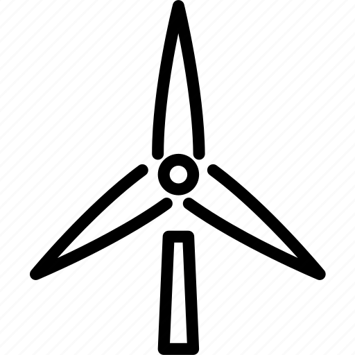 eco, ecological, energy, mill, wind icon