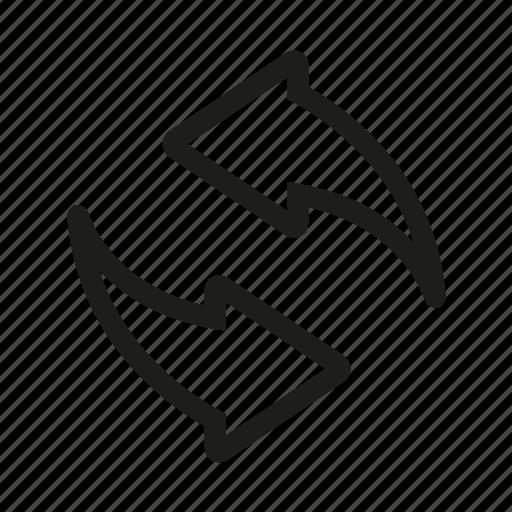 arrow, arrows, eco, refresh, reload, renew icon