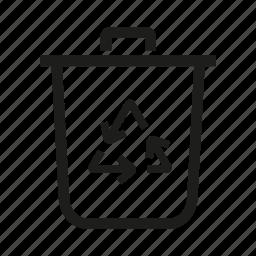 eco, refresh, trush icon