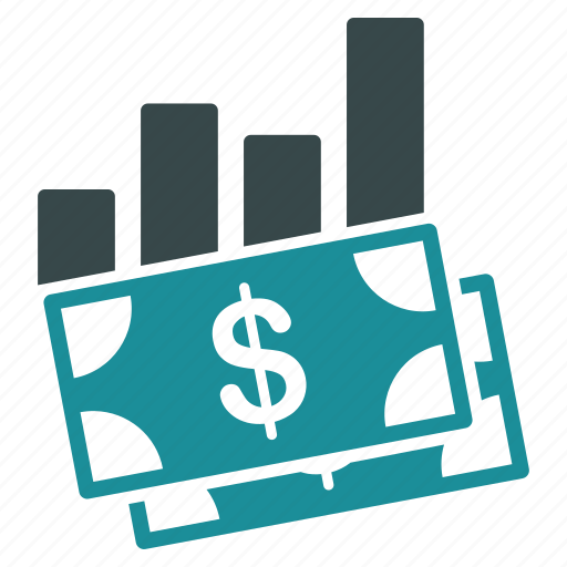 business, cash, chart, finance, graph, money icon