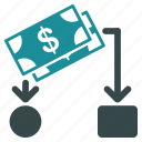 bank, business, cash, dollar, money, payment, stock icon