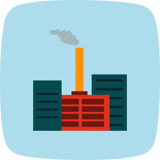 factory, industry, mill, pollution icon