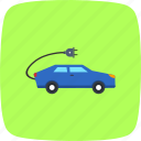 car, eco, electric, vehicle icon