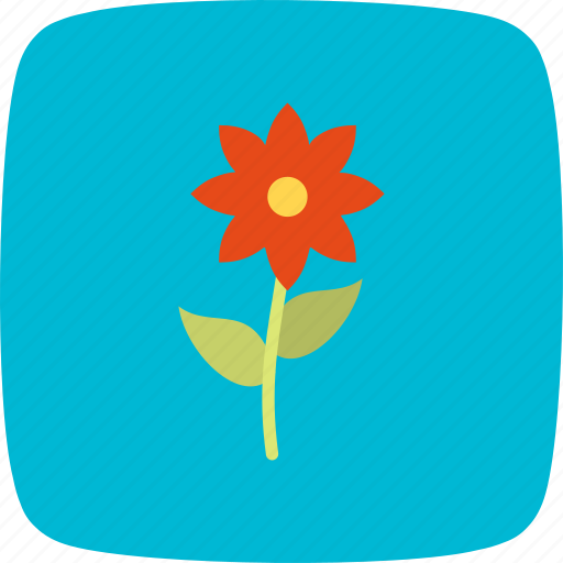 flower, nature, red, spring icon