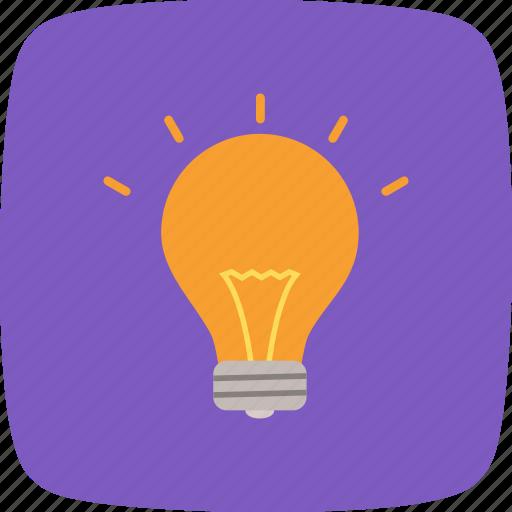 bulb, eco, lamp, light icon