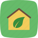 ecology, home, house icon