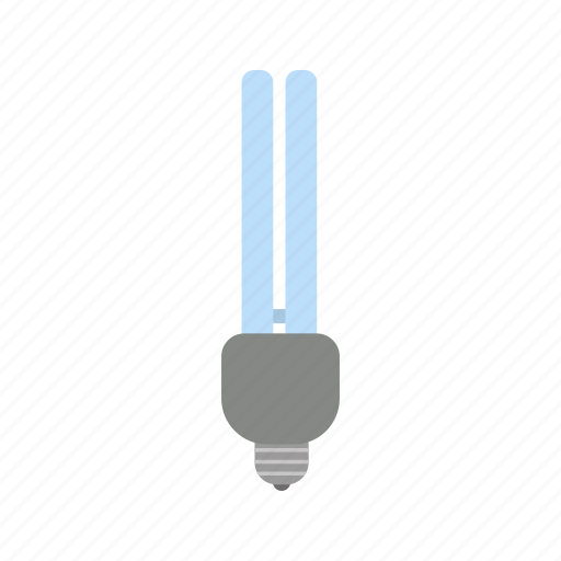 eco bulb, energy saver, light icon