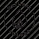 label, tag, badge, natural colors, natural, colors
