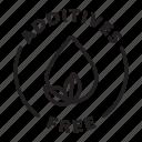 label, tag, badge, additives free, additives, free