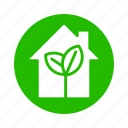 earth, eco, energy, home, leaf, nature, recycle icon