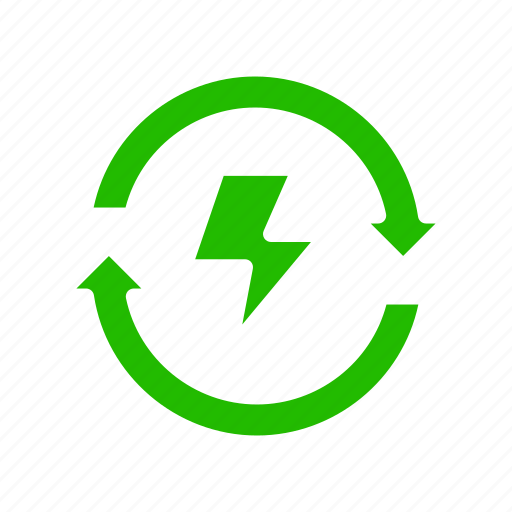 Energy, recycle, reusable icon - Download on Iconfinder