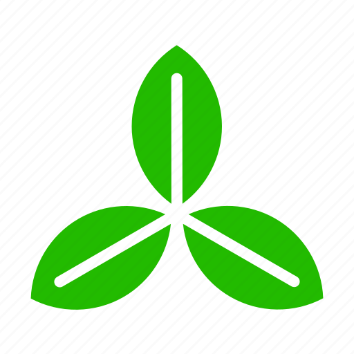 energy, leaves, propeller icon