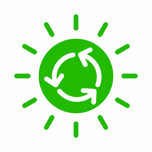 Energy, recycle, sun icon - Download on Iconfinder
