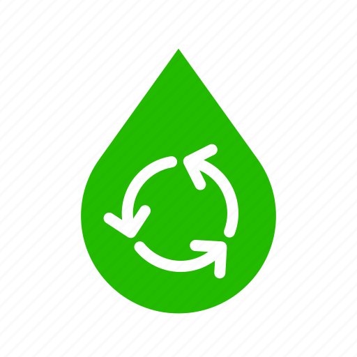 Energy, recycle, water, reusable icon - Download on Iconfinder