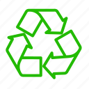 arrow, earth, eco, energy, nature, recycle icon