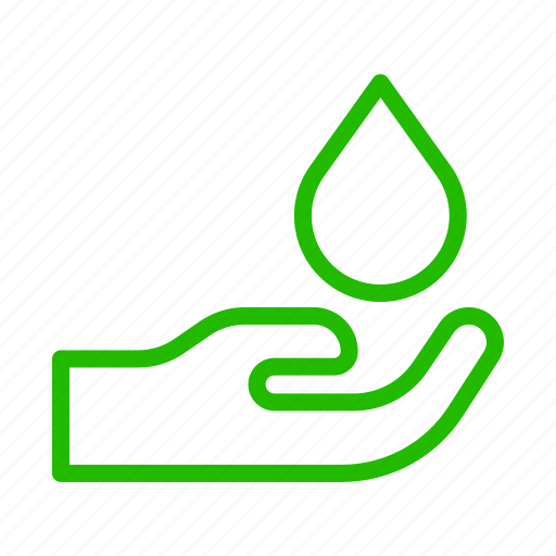 earth, eco, energy, hand, hold, nature, recycle icon