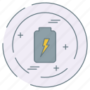 battery, eco, ecology, environment icon