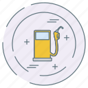 eco, ecology, environment, fuel, pump icon