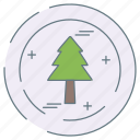 eco, ecology, environment, tree icon