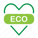 eco, ecology, heart, love