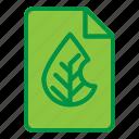 data, document, ecology, green