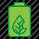 battery, ecology, energy, leaf