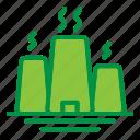 ecology, energy, factory, power