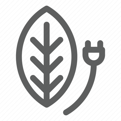 eco, energy, leaf, nature, power icon
