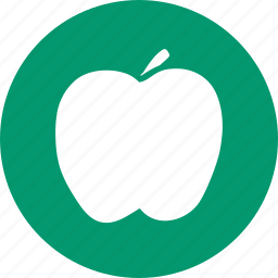 apple, diet, food, fruit, health, nature, vegetarian icon